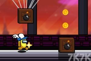 《太空跑酷》游戲畫面1
