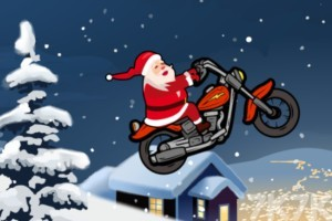 《圣誕摩托車》游戲畫面1