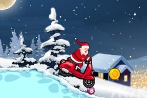 《圣誕摩托車》游戲畫面3