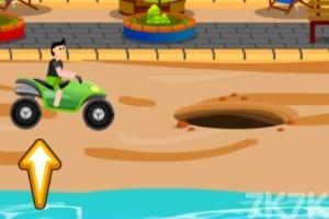 《沙滩车障碍赛》游戏画面3