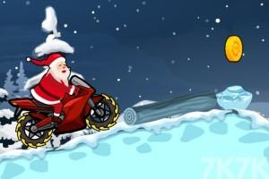 《圣诞摩托车无敌版》游戏画面2