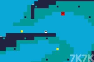 《吞噬黄色方块》游戏画面2
