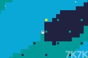 《吞噬黄色方块》游戏画面1