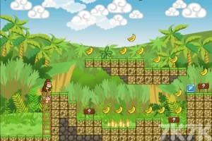 《小猴父子历险记H5无敌版》游戏画面2