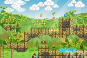 《小猴父子历险记H5无敌版》游戏画面3