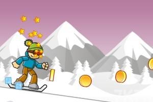 《冰山滑雪》游戏画面1
