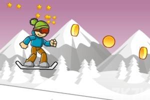 《冰山滑雪》游戏画面3