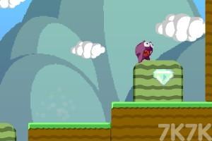 《小怪兽吃钻石》游戏画面1