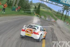 《拉力车挑战赛》游戏画面2