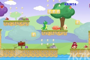 《恐龙世界大冒险》游戏画面1