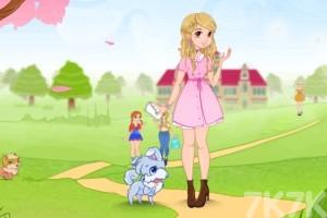 《装扮可爱公主》游戏画面2