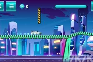 《赛博竞速》游戏画面1