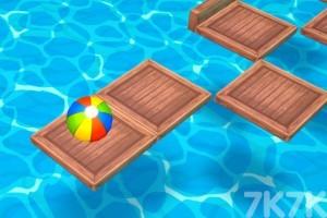 《沙滩球大挑战选关版》游戏画面3