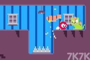 《红球消灭怪物》游戏画面2