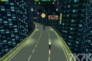 《忍者摩托车手》游戏画面1