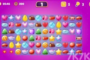 《蜜糖连连看》游戏画面1