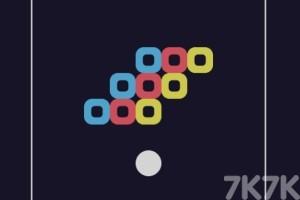 《白球推方块》游戏画面4