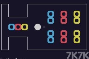 《白球推方块》游戏画面3