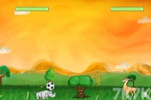 《动物足球》游戏画面1