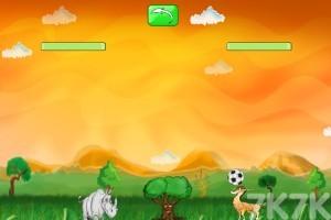 《动物足球》游戏画面2
