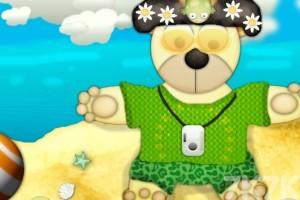 《泰迪熊沙滩换装》游戏画面4