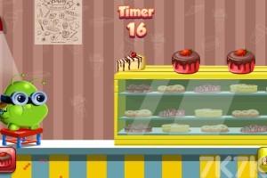 《波波吃蛋糕》游戏画面1