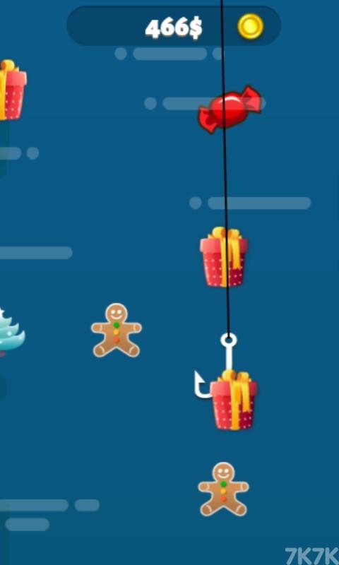 《圣诞钓鱼大师》游戏画面1
