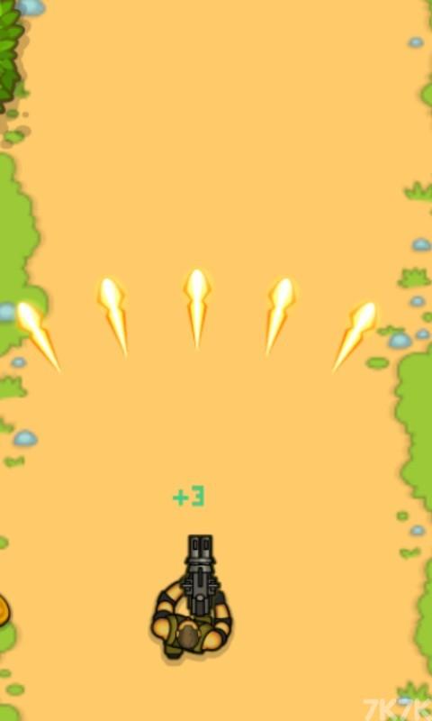 《狂暴的战士无敌版》游戏画面3