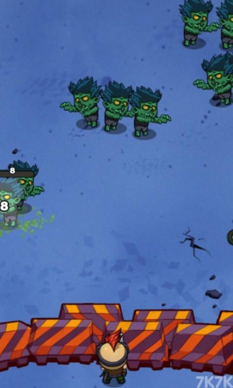 《绝境打僵尸》游戏画面2