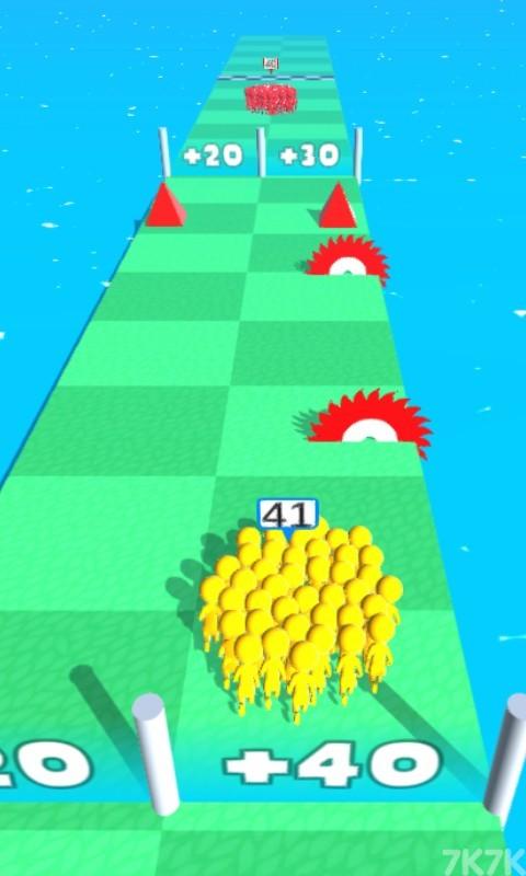 《橡皮人一起冲》游戏画面4