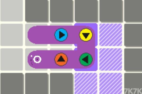 《按钮贪吃蛇》游戏画面2