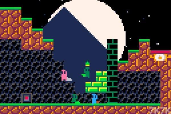 《跟屁虫过关》游戏画面3