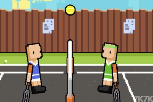 《网球大满贯》游戏画面1