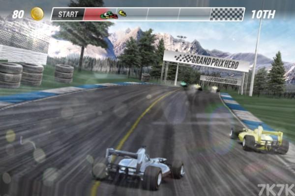 《方程式竞速》游戏画面3