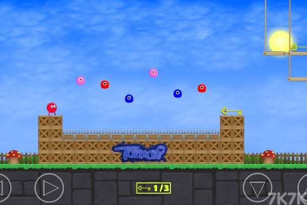 《红色小球冒险》游戏画面4