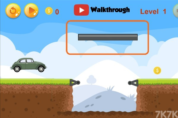 《给汽车造桥》游戏画面1