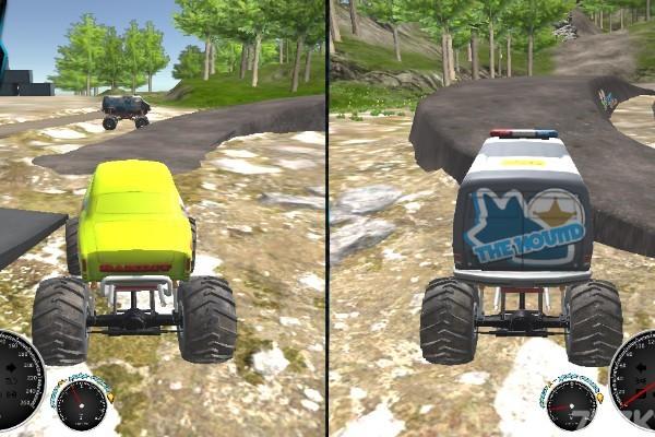 《越野车训练赛》游戏画面3