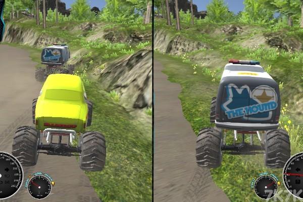 《越野车训练赛》游戏画面4