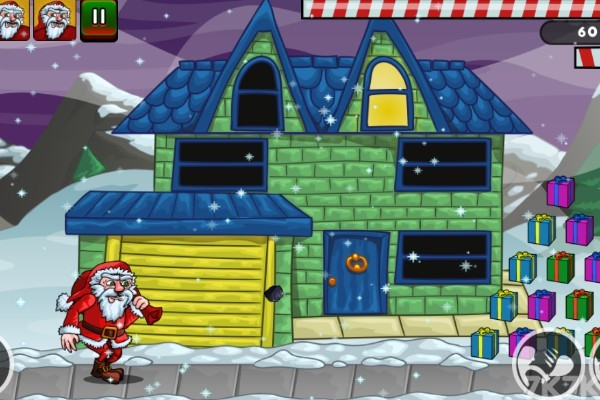 《圣诞老人往前冲》游戏画面4