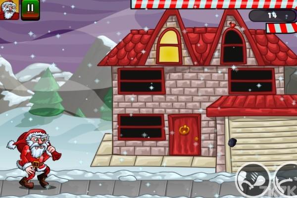 《圣诞老人往前冲》游戏画面2
