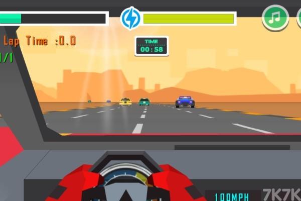 《赛车追逐战》游戏画面3