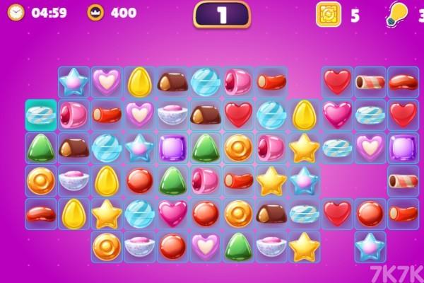 《蜜糖连连看》游戏画面2