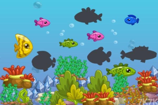 《简单海洋拼图》游戏画面1