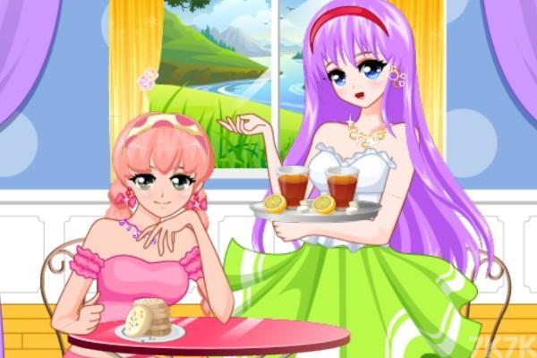 《下午茶大换装》游戏画面2